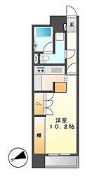 ドゥーエ大須(旧メゾン・ド・ヴィレ大須)[10階]の間取り