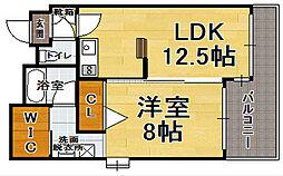 サンシティ博多FLEX21[2階]の間取り