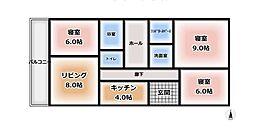 グリーンアベニュー谷塚9号棟