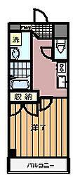 神奈川県川崎市麻生区上麻生の賃貸マンションの間取り