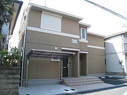 大阪府寝屋川市堀溝3丁目の賃貸アパートの外観