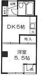 東京都品川区小山台1丁目の賃貸マンションの外観