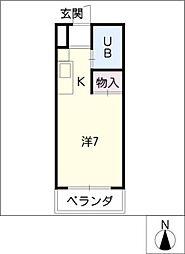 小澤マンション[3階]の間取り