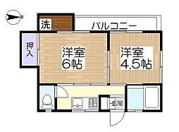 アモール1[1階]の間取り
