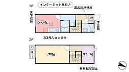 福岡県福岡市西区今宿町の賃貸アパートの間取り