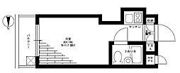 ペガサスマンション経堂[213号室]の間取り
