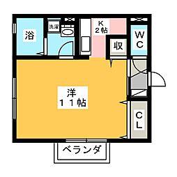 Ki House B棟[1階]の間取り