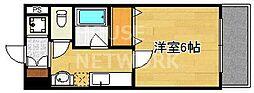 S-FORT京都西大路(旧グランドパレス西大路七条)[407号室号室]の間取り