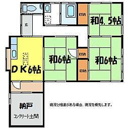 なかぞの荘[1階]の間取り