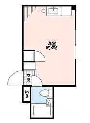 サントピア泉尾[4階]の間取り