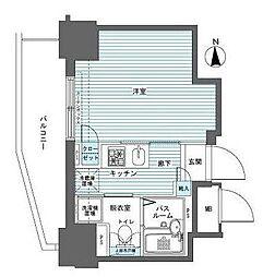 フェニックス西参道タワー[0303号室]の間取り