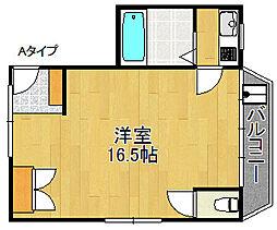 京田ビル[3階]の間取り