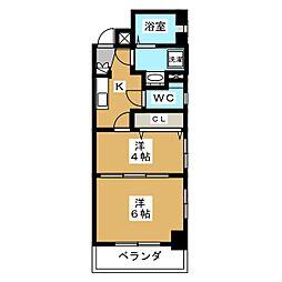 エステムプラザ京都ステーションレジデンシャル[3階]の間取り