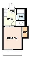 桜コーポA[106号室]の間取り