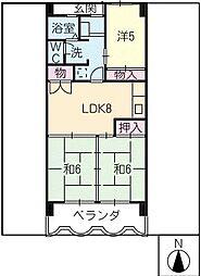 LIFE21[5階]の間取り