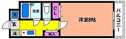 ラミレーテマスムラ[2階]の間取り