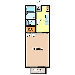 メゾンマキ[2階]の間取り
