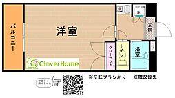 神奈川県相模原市緑区東橋本3丁目の賃貸アパートの間取り