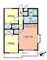 ラ・メール湘南[3階]の間取り