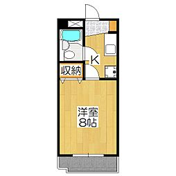 メゾンジョア 2[3階]の間取り