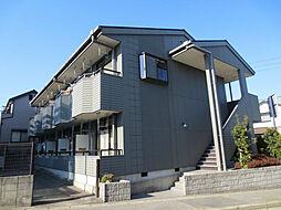 愛知県名古屋市緑区神沢1丁目の賃貸アパートの外観