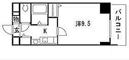 プレサンス東別院駅前コネクション[9階]の間取り