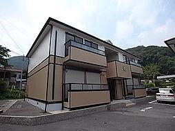 兵庫県たつの市龍野町下霞城の賃貸アパートの外観
