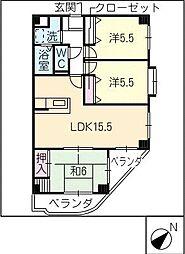 FORTRESS・I[1階]の間取り