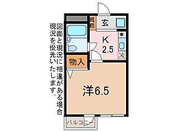 メゾンドールタイヨウ[3階]の間取り