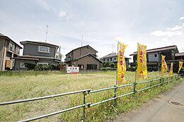 敷地面積は149坪超。建物やお庭など、夢がぐんと広がる広さです。