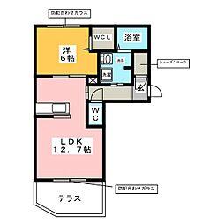 仮称 熱田区神戸町ベレオ[1階]の間取り