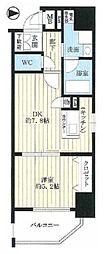 クリスタルグランツ新大阪[11階]の間取り