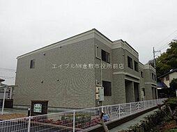 岡山県倉敷市船穂町船穂丁目なしの賃貸アパートの外観