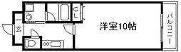 フェルミ堀川[302号室]の間取り