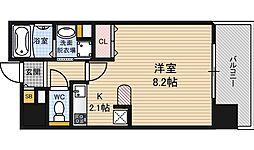 エスポルテ福島[9階]の間取り