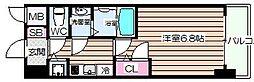 アクアプレイス福島EYE[2階]の間取り