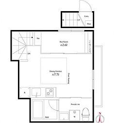 キングハウス桜台台[2階]の間取り