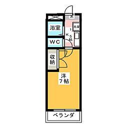 タウン87[2階]の間取り