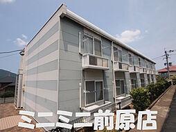 福岡県糸島市美咲が丘1丁目の賃貸アパートの外観