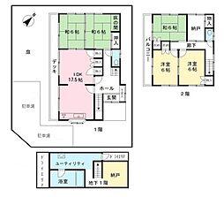 [一戸建] 東京都調布市下石原2丁目 の賃貸【/】の間取り