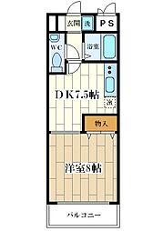 T.Oコート花川[2階]の間取り