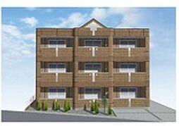 仮)東大和市南街6丁目新築アパート[2階]の外観