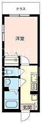 メゾンDAIDO[103号室号室]の間取り