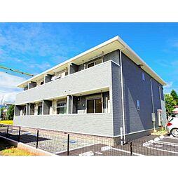 静岡県静岡市葵区与一の賃貸アパートの外観