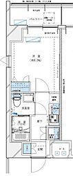 レジデンツア西神奈川[205号室号室]の間取り