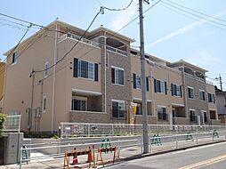 愛知県名古屋市名東区宝が丘の賃貸アパートの外観