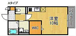コゥジィーコートI[1階]の間取り