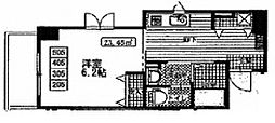 パピエ・レイ Papier Rei bt[505kk号室]の間取り