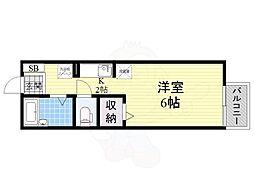 百舌鳥八幡駅 4.5万円