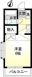 SG TOTUKA[201号室]の間取り